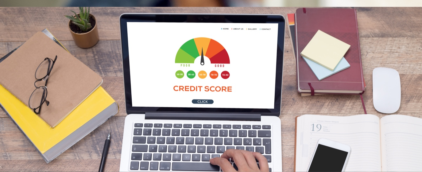 laptop with credit score